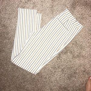 Striped f21 pants